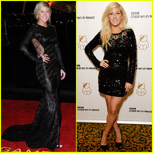 Ellie Goulding: 'Catching Fire' Premiere & Children in Need Gala!