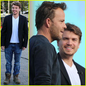 Emile Hirsch: Stephen Dorff is a 'Really Strong Actor'