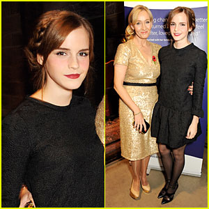 Emma Watson: 'Harry Potter' Reunion with J.K. Rowling!