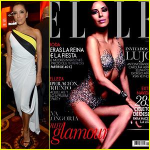 Eva Longoria Covers Spanish 'Elle', Attends Event in Vegas!