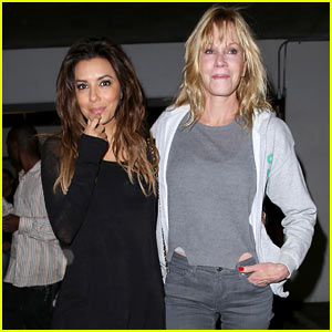 Eva Longoria & Melanie Griffith Enjoy Girl's Night Out Together!