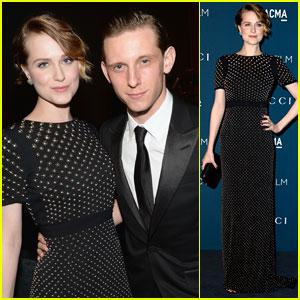 Evan Rachel Wood & Jamie Bell - LACMA Art & Film Gala 2013