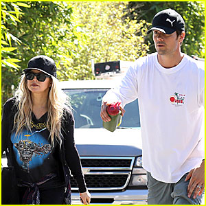 Fergie & Josh Duhamel: Workout Pair After Halloween!