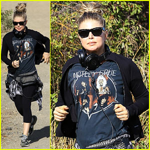 Fergie Rocks Out with Motley Crue for Sunday Afternoon Hike