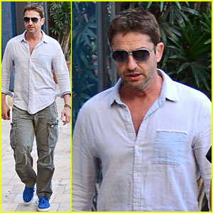 Gerard Butler: Beverly Hills Outing After 'Kane & Lynch' News!