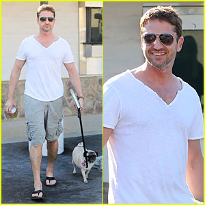 Gerard Butler: I Feel Comfortable in a Suit!