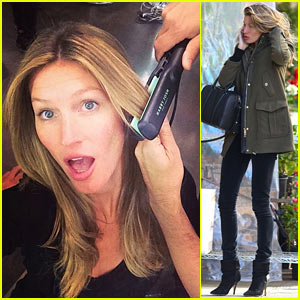 Gisele Bundchen: Harry Josh Convinced Me to Straighten My Hair