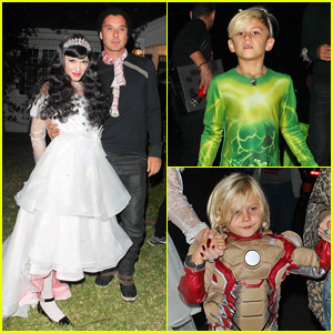 Gwen Stefani & Gavin Rossdale Dress Up for Halloween 2013!