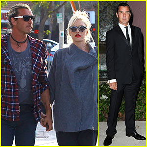 Gwen Stefani & Gavin Rossdale Hold Hands After Tennis Gala