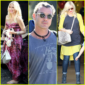 Gwen Stefani & Gavin Rossdale Keep Busy Over the Weekend!