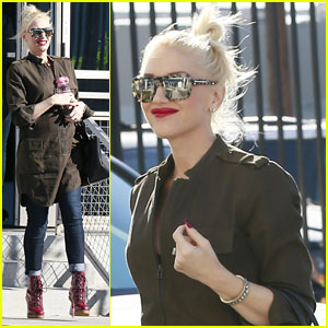Gwen Stefani Shows Off Growing Baby Bump in L.A.