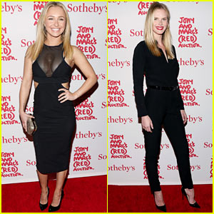 Hayden Panettiere & Anne V: Jony & Marc's (RED) Auction!