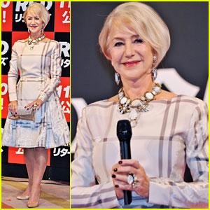 Helen Mirren: 'Red 2' Tokyo Premiere
