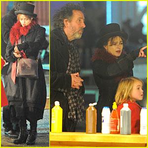 Helena Bonham Carter & Tim Burton: Winter Wonderland Launch!