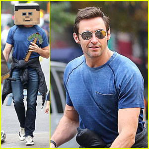 Hugh Jackman: Minefield Mask on Halloween!