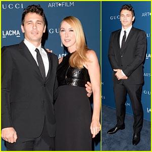 James Franco & Frida Giannini - LACMA Art & Film Gala 2013