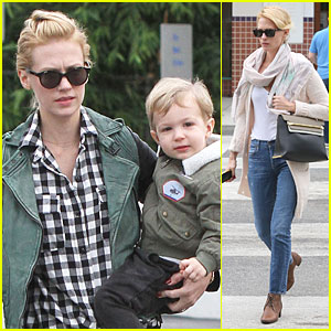 January Jones Jokes That James Marsden is Xander's Father!