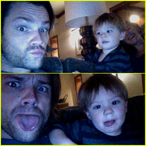 Jared Padalecki Skypes with Wife & Kids in Cute New Video ...