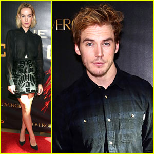 Jena Malone & Sam Claflin: 'Catching Fire' Victory Tour!