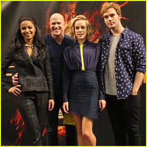 Jena Malone & Sam Claflin: 'Hunger Games' Victory Tour in Minnesota!