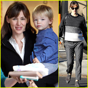 Jennifer Garner: Back on West Coast After D.C. Capitol Hill Trip