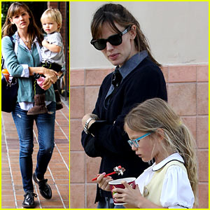 Jennifer Garner Kicks Off Week with Quality Family Time!