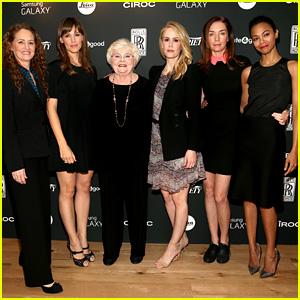 Jennifer Garner & Zoe Saldana: Variety Awards Studio 2013!