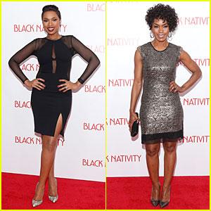 Jennifer Hudson & Angela Bassett: 'Black Nativity' Premiere!