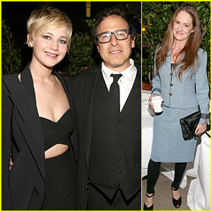 Jennifer Lawrence: David O. Russell Tribute at AFI Fest 2013!
