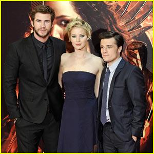Jennifer Lawrence & Josh Hutcherson: 'Catching Fire' Madrid Premiere!