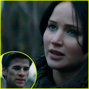 Jennifer Lawrence & Liam Hemsworth: 'Catching Fire' Clip - Watch Now!