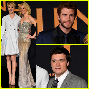Jennifer Lawrence & Liam Hemsworth: 'Catching Fire' Berlin Premiere!