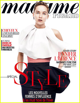 Jennifer Lawrence Covers 'Madame Figaro' Style Issue