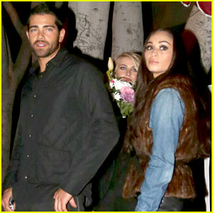 Jesse Metcalfe & Cara Santana: Dinner with Julianne Hough!