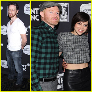 Jesse Tyler Ferguson & James McAvoy: 24 Hour Plays On Broadway After Party!