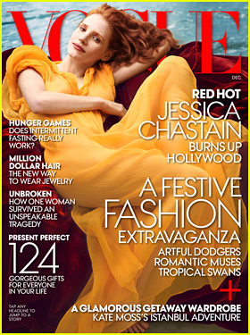 Jessica Chastain Covers 'Vogue' December 2013!