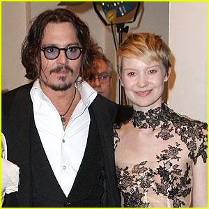Johnny Depp & Mia Wasikowska Return for 'Alice in Wonderland 2'!