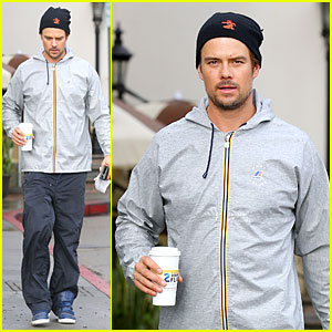 Josh Duhamel: Post Thanksgiving Coffee Run!