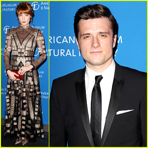Josh Hutcherson & Florence Welch: NYC Museum Gala!