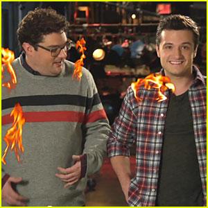 Josh Hutcherson: 'Saturday Night Live' Promo - Watch Now!