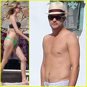 Joshua Jackson Goes Shirtless, Diane Kruger Wears Bikini for Cabo Getaway!