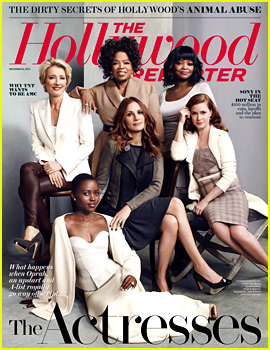 Julia Roberts, Amy Adams, & More Cover 'THR' Actress Issue!
