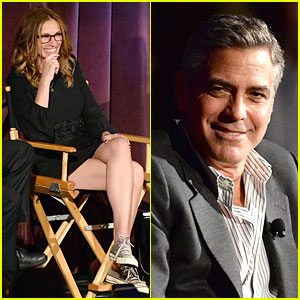 Julia Roberts & George Clooney: 'August' Screening Q&A!