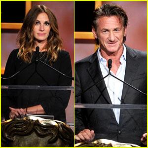 Julia Roberts & Sean Penn - BAFTA Britannia Awards 2013