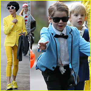Julie Bowen: Psy's Sidekick Halloween Costume!