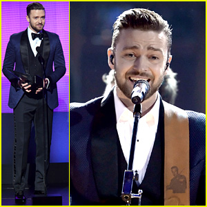 Justin Timberlake: 'Drink You Away' at AMAs 2013 (Video)