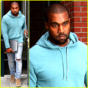 Kanye West Steps Out After Zappos Responds to Comments