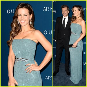 Kate Beckinsale & Len Wiseman - LACMA Art & Film Gala 2013