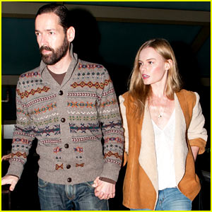 Kate Bosworth & Michael Polish Hold Hands After 'Big Sur' Event