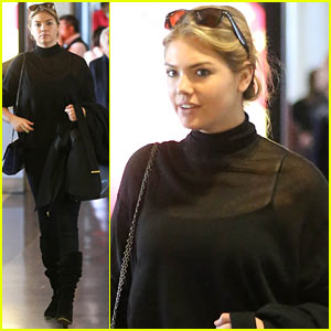 Kate Upton Flies Out After 'Fun Day' at Sexy Photo Shoot!